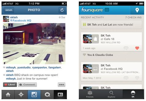 Facebook запускає користувацькі кнопки «Like» для мобільних та веб додатків
