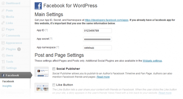 Facebook запустив Facebook for WordPress plugin