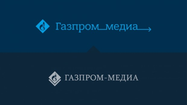 «Газпром медіа» використав український шрифт Bandera Pro в своєму фірмовому стилі