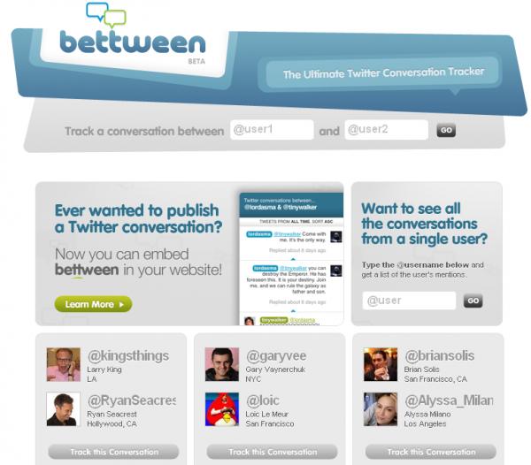Як подивитися розмову між двома Twitter користувачами на одній сторінці