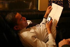 Обама зможе спілкуватись через свій BlackBerry лише з кількома особами