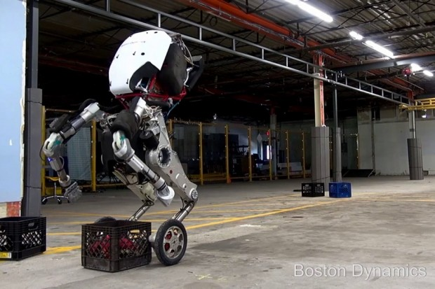 Boston Dynamics створили робота з ногами колесами
