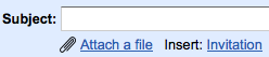 Нові функції Gmail: drag&drop вкладень та розсилка запрошень