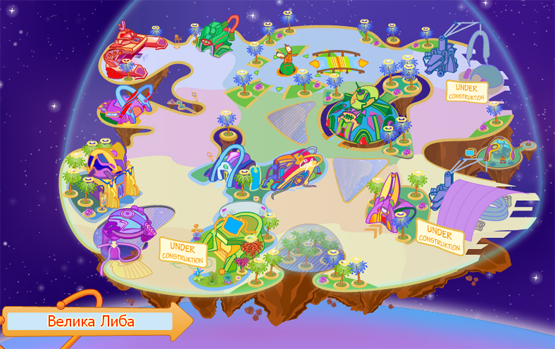 В Уанеті запустили віртуальний світ для всієї родини Chobots