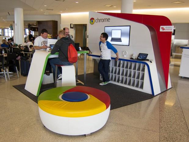 Google планує відкрити мережу власних магазинів