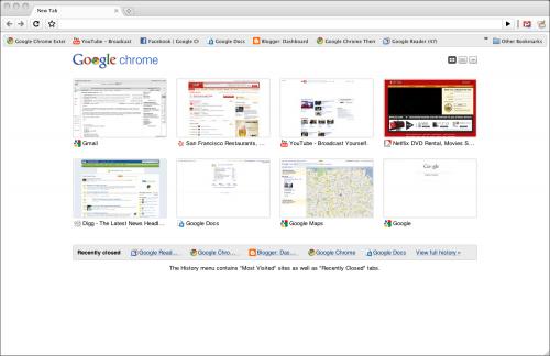 Google Chrome вийшов з бети