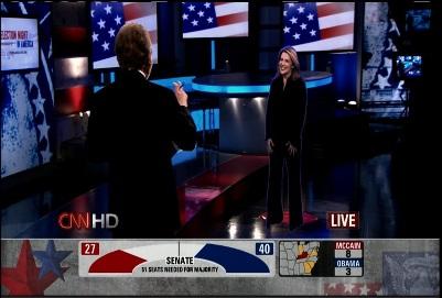 CNN використала революційну технологію в телебаченні. 3 d голограми людей в студії