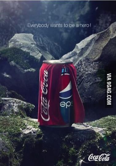Холодна війна між Pepsi та Coca Cola в соцмережах