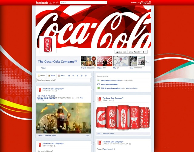 Facebook поки не буде запускати Timeline для брендів