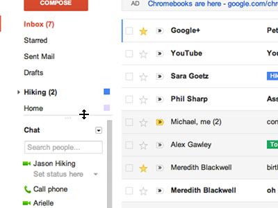Google оновив інтерфейс Gmail