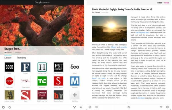 Google запустив безкоштовний читач новин Google Currents