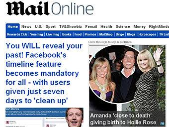 The Daily Mail стала найпопулярнішою онлайн газетою світу