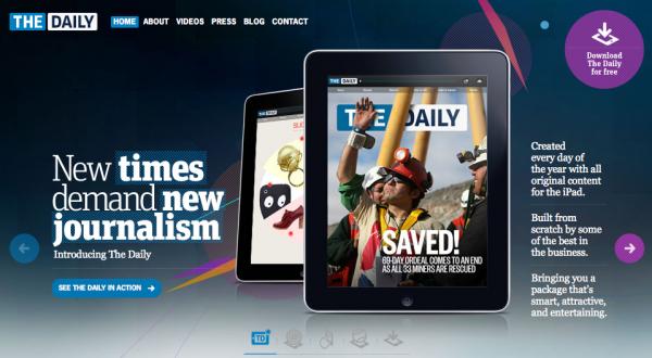Дайджест: The Daily на Android, доходи Mail.ru Group, за рецептами на Google