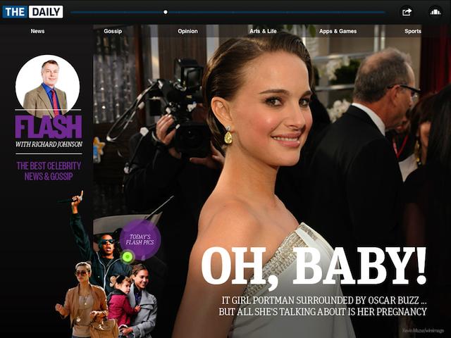 The Daily    перша в світі iPad газета