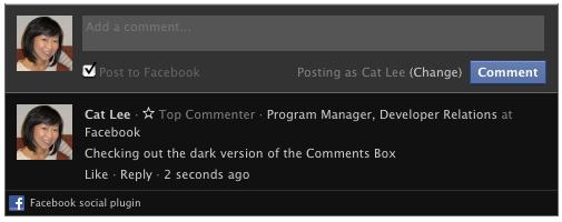 Віджет коментарів від Facebook отримав нові функції