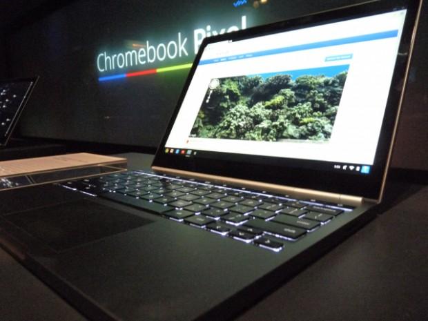 Google презентував преміум ноутбук Chromebook Pixel