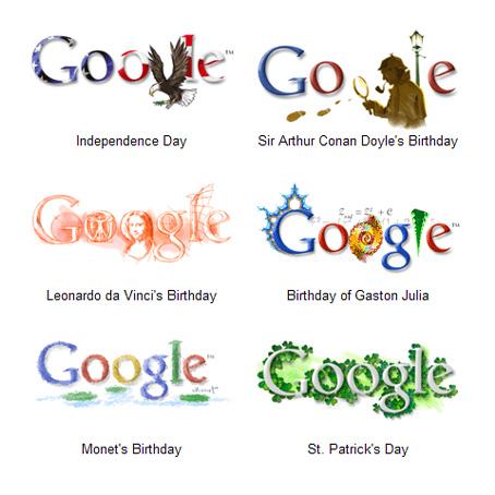 Google отримав патент для своїх doodle логотипів