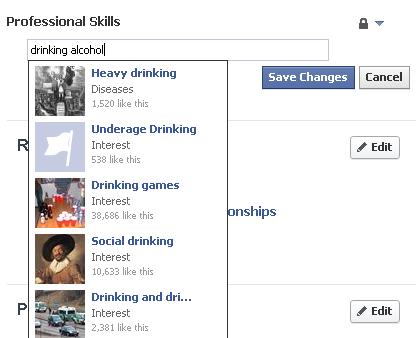 Facebook тестує «професійні навички» у профілях користувачів як у LinkedIn