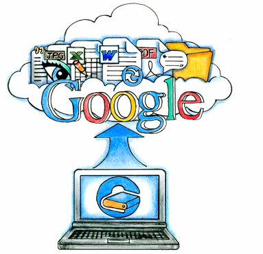 Google запустить конкурента Dropbox