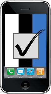 Естонці перші в світі голосуватимуть через мобільні телефони