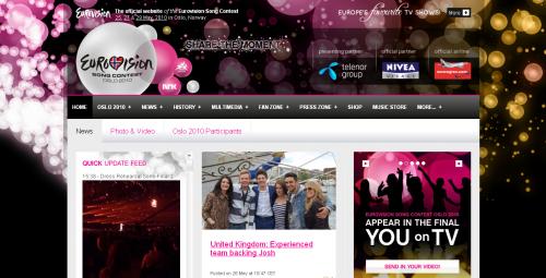 Де подивитись Євробачення 2010 онлайн?