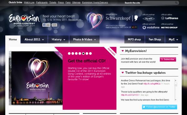 Де подивитись Євробачення 2011 онлайн