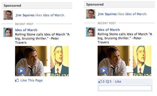 Facebook вводить новий формат реклами