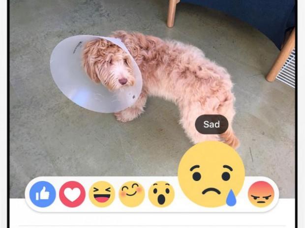 Facebook дозволить оцінювати записи не лише лайком, а й emoji смайликами (оновлено)