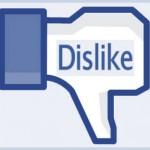У ВКонтакте може з'явитись кнопка «не подобається»