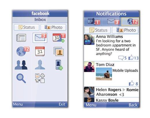 Facebook запустив мобільний додаток для простих телефонів