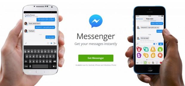 Facebook прибере можливість спілкуватись з друзями через свій додаток на iOS та Андроід