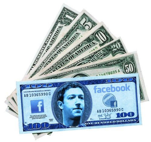 Facebook заробляє понад $20 млн щодня