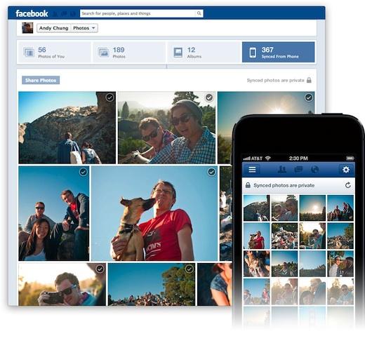 Facebook хоче, щоб користувачі пристроїв на iOS синхронізували всі свої фото з соцмережею