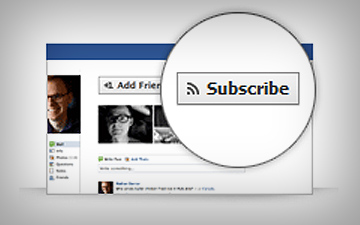 Facebook запустить кнопку Subscribe для сайтів