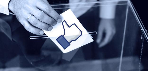 Користувачі не зацікавилися голосуванням в Facebook