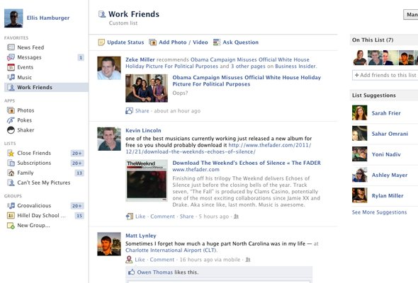 Як створити і читати стрічку обраних друзів на Facebook
