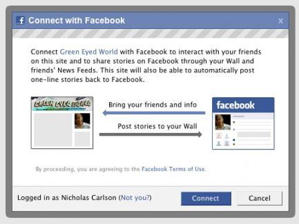 Facebook прикриває «Facebook Connect»