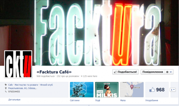 7 найпопулярніших місць в українському Facebook