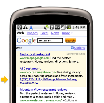 Як працює click to call реклама в Google