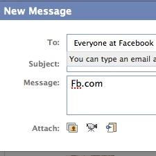Facebook придбав домен fb.com за $8,5 млн