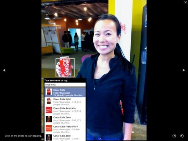 Сторінки Facebook можна тегувати на фото