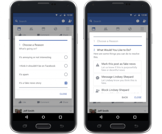 Facebook розробив інструмент для боротьби з фейками