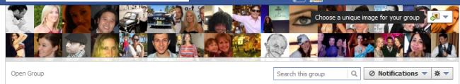 Групи у Facebook отримають обкладинку фото як у Timeline
