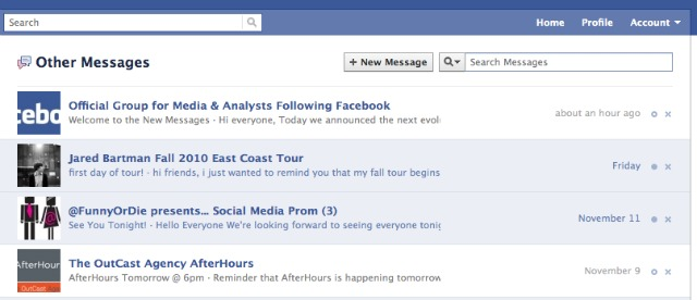 Як працює пошта на Facebook