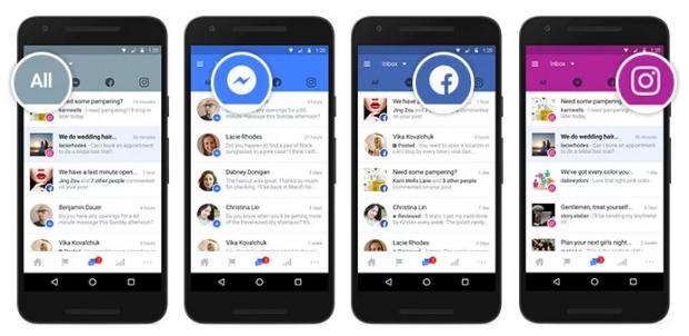 У Facebook Pages зявилась спільна скринька для повідомлень з соцмережі, Messenger та Instagram
