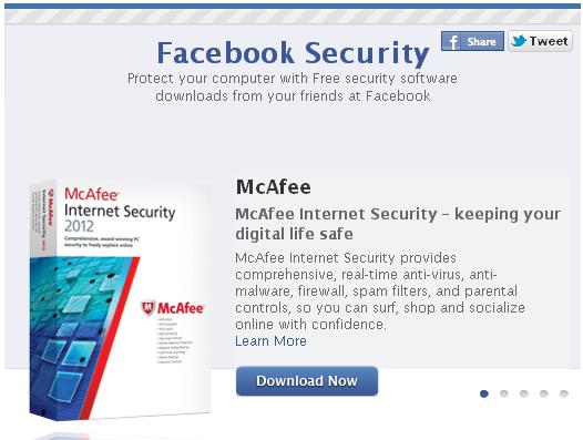 Facebook роздасть безплатні антивіруси