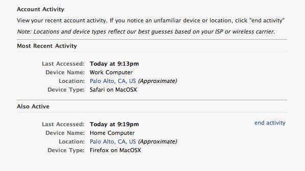 Facebook запустить одноразові паролі
