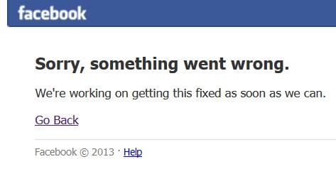 Facebook не працює. Найбільший збій в соцмережі за останні 5 років