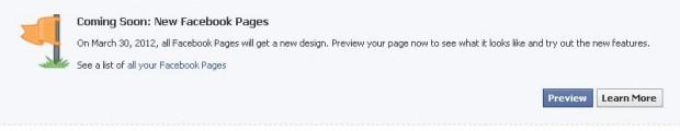 Facebook запустив Timeline для сторінок брендів
