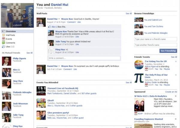 Facebook розкаже історію ваших взаємин з друзями